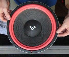 Fix a Speaker by Replacing the Foam Edge