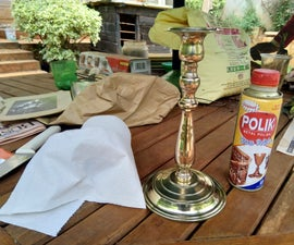 How to Re-Polish a Brass Candle Stand