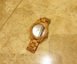 Homemade Wooden Watch (From Scratch)
