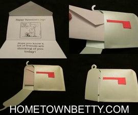 TUTORIAL: A Charlie Brown (Mailbox) Valentine's Card