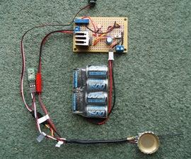 Variable Voltage Regulator - Filtered Linear Power Supply