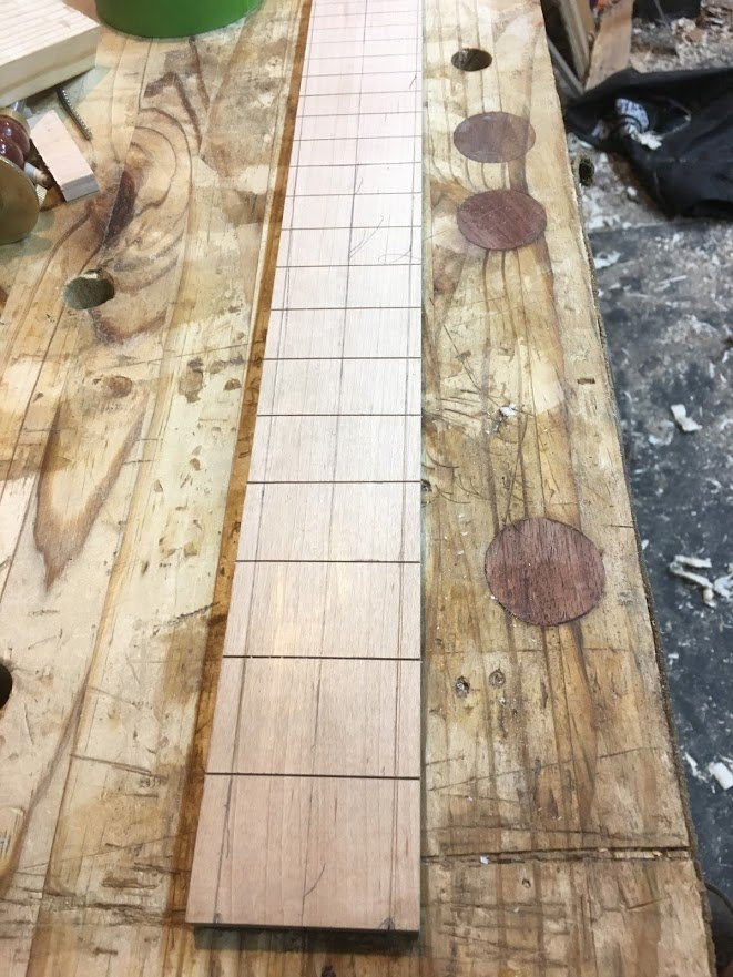 Picture of Making the Fretboard