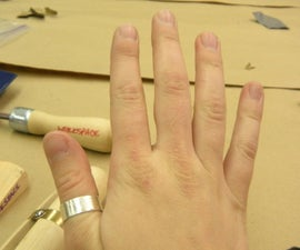 Making a Simple Sterling Silver Ring