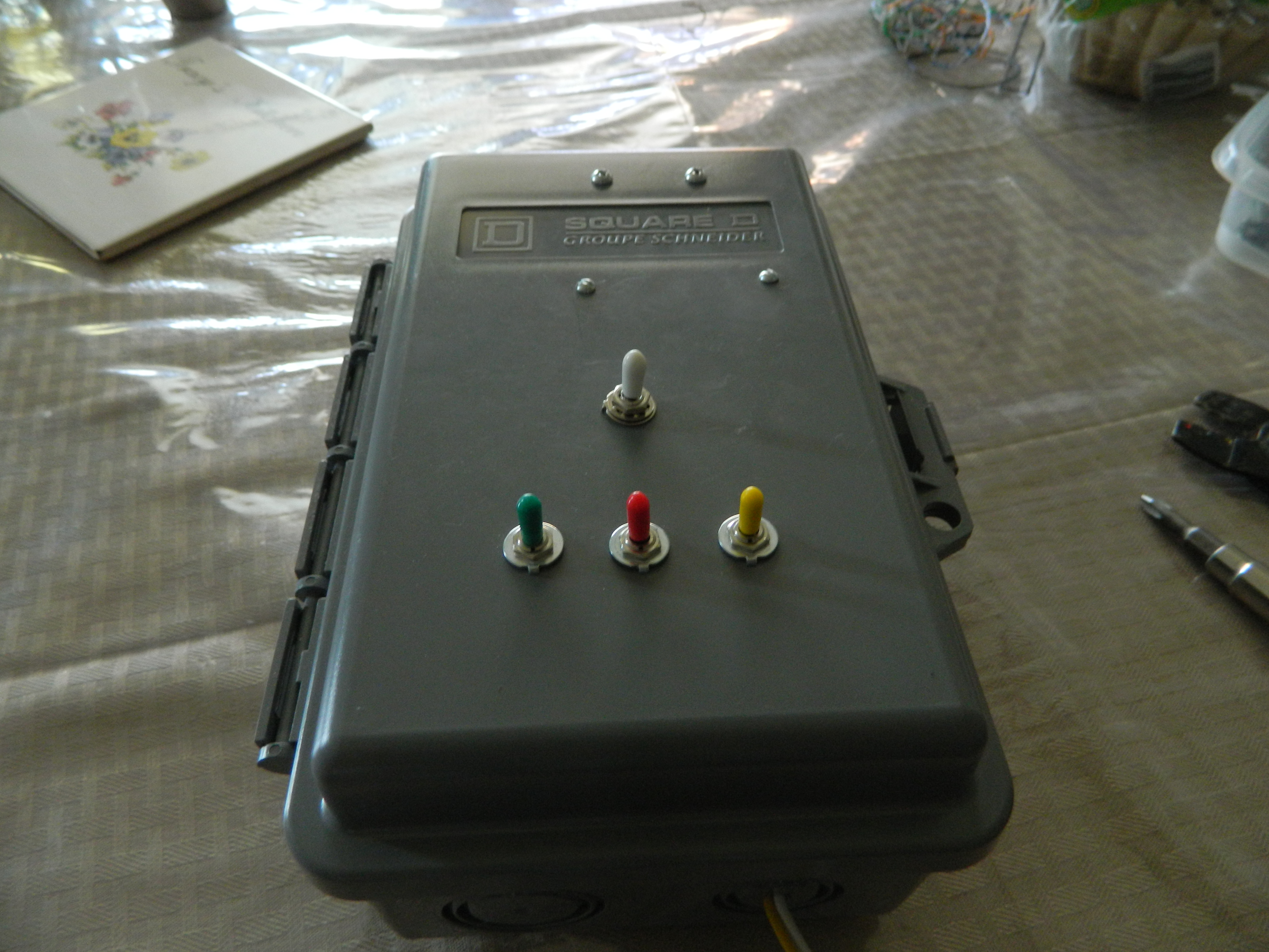 Picture of Toggle Switches & Shield