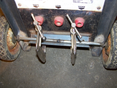 Picture of Weld the Ends of the Axle