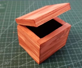 Making a Wooden Box Out of Cardboard