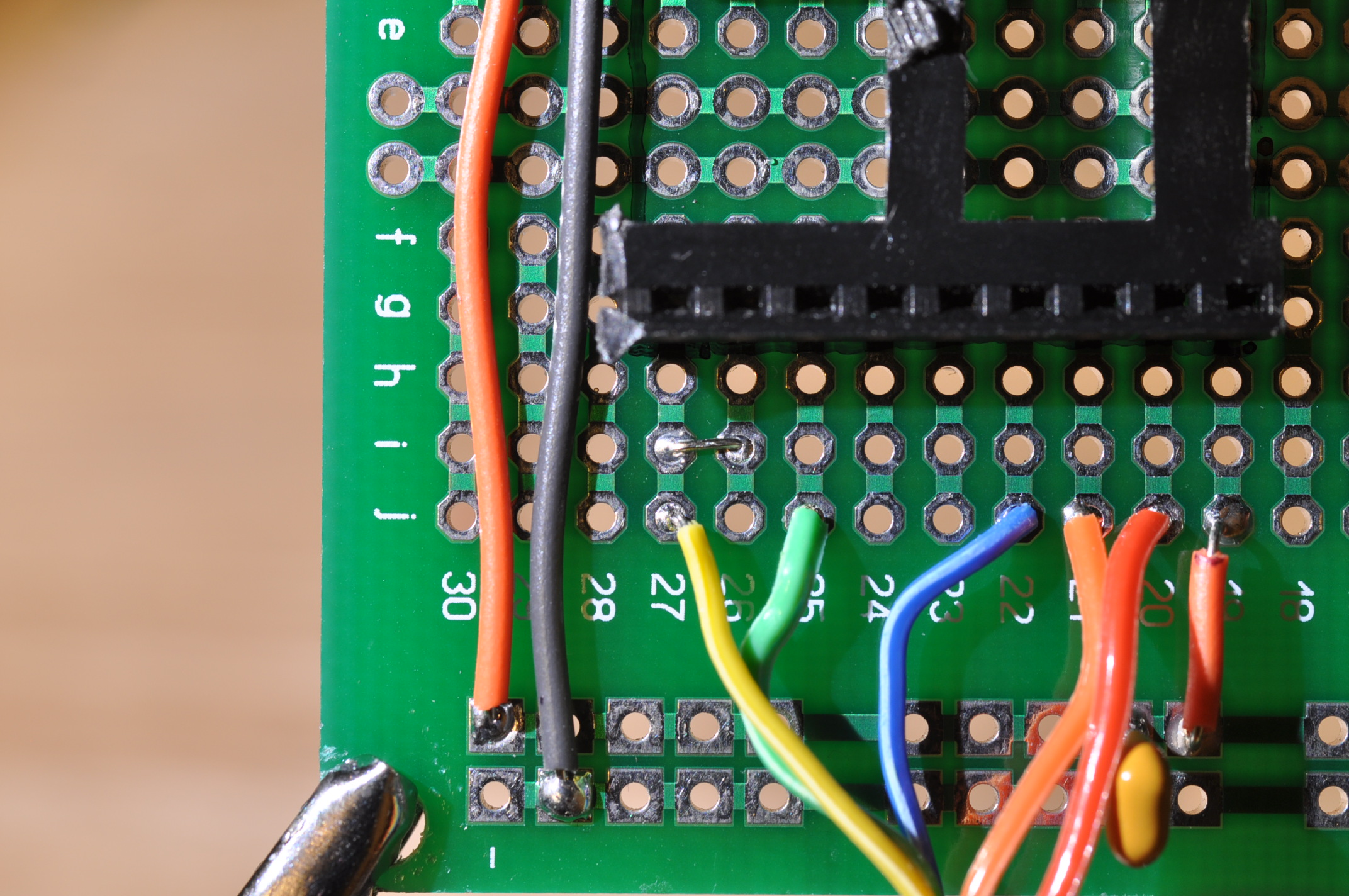 Picture of Install Display Select Jumper