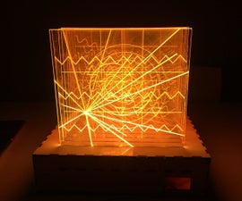 Light Display With Stroke Sensor and Arduino