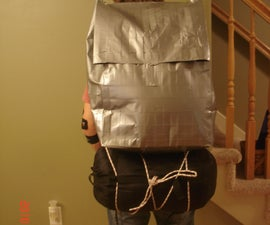 Duct Tape Backpacking Pack