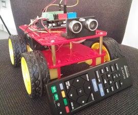 Arduino RobotGaia IR 4WD