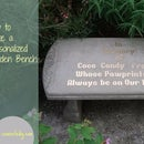 Personalize a garden bench
