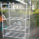 PVC Pipe Hydroponics Structure.
