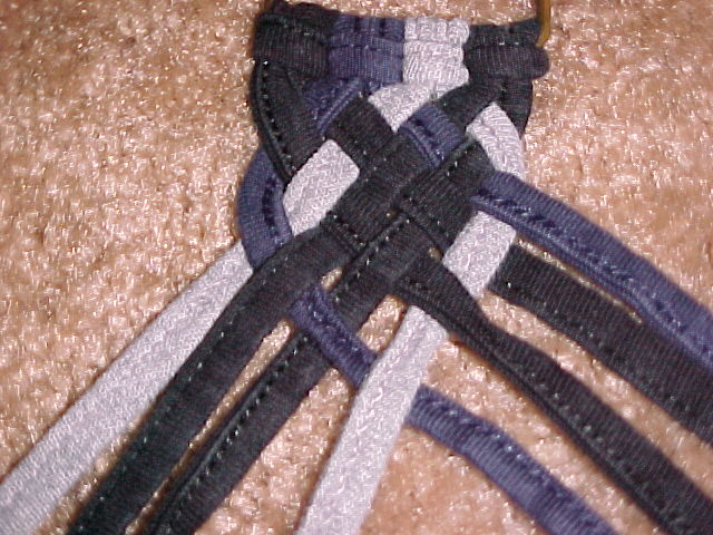 Picture of Braid Left Cord, Then Right Cord