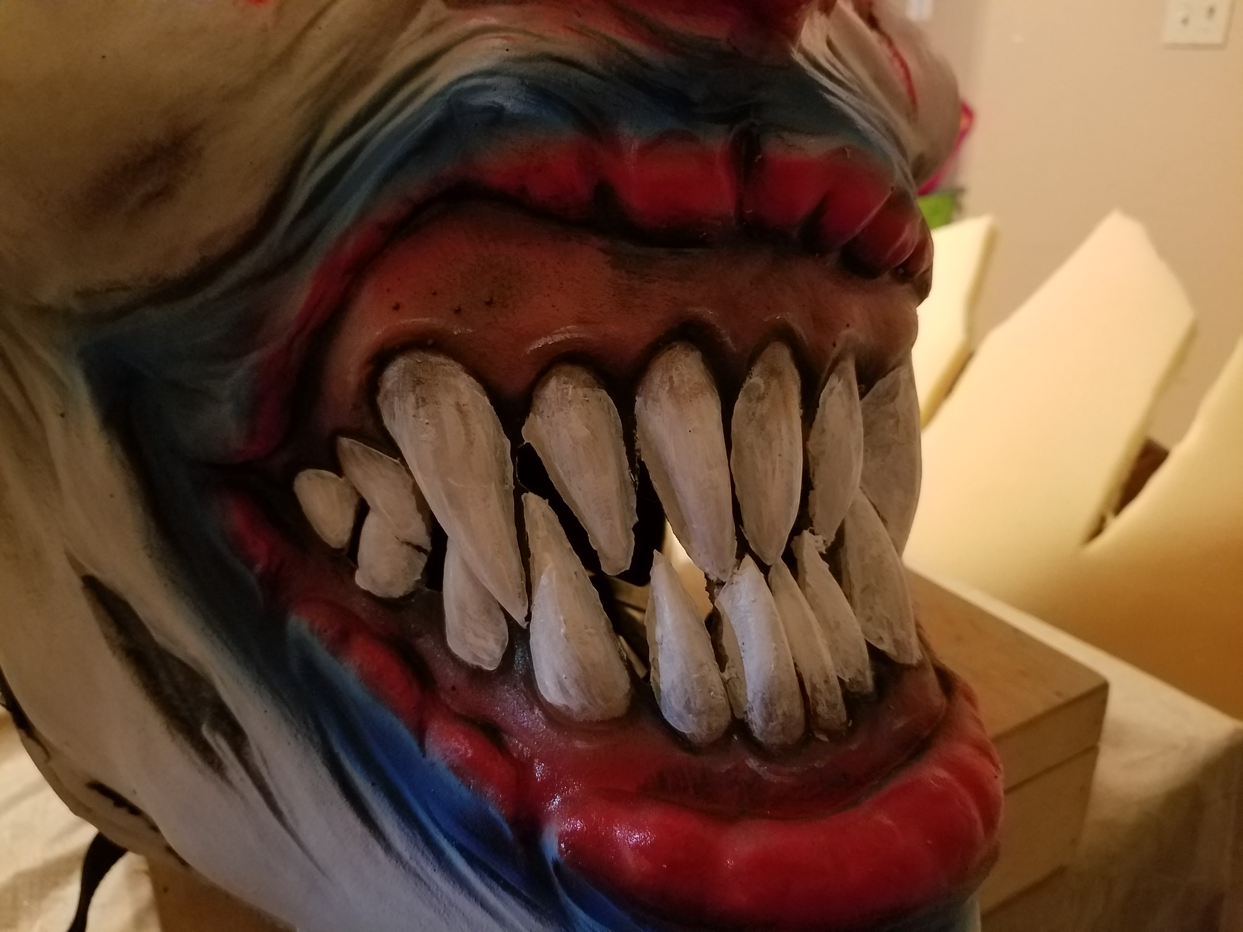 Picture of Big Headed Evil Clown