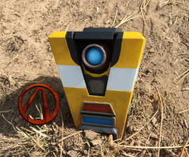 Borderlands: Desktop Claptrap Model