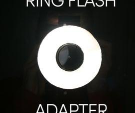 DIY Built-In-Flash Ring Flash Adapter