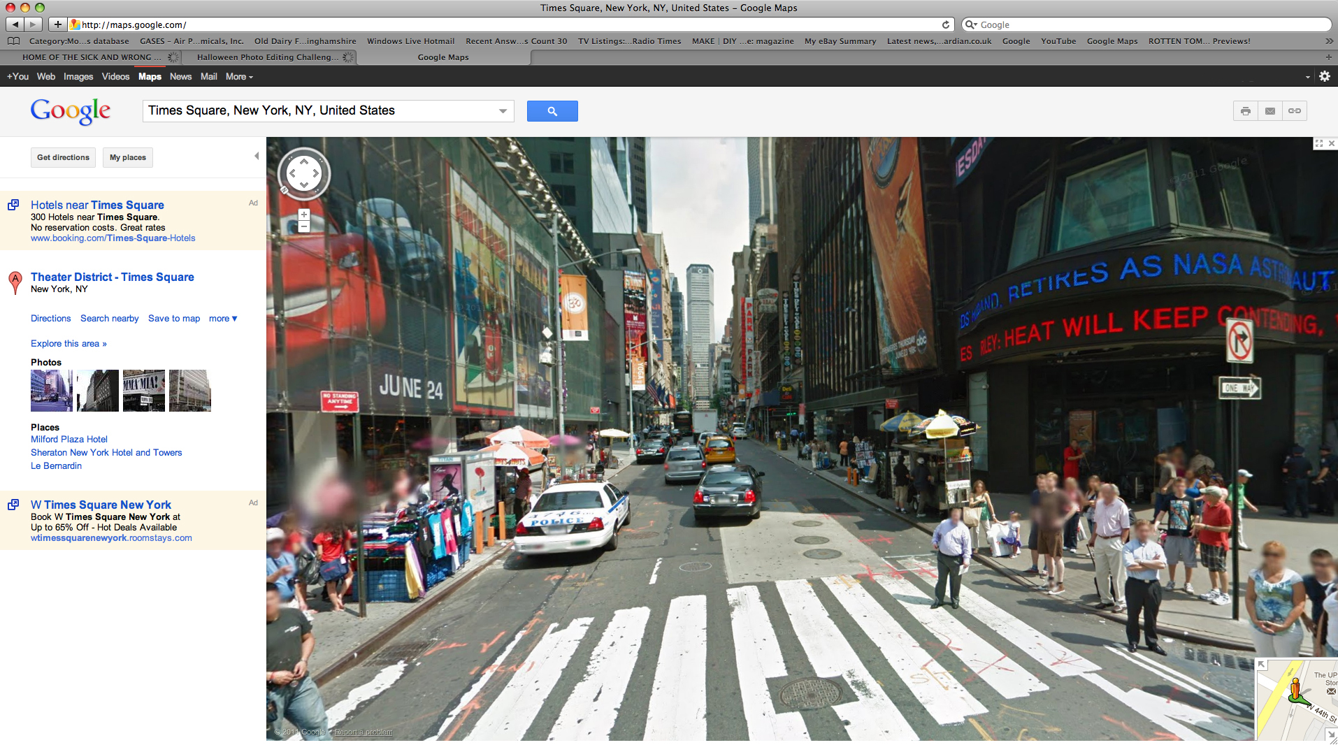 Picture of Apocalyptic Landscape on Google Streetview