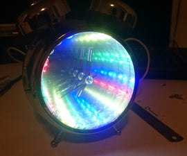 DIY Infinity Mirror Clock