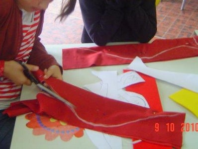 Making the Template, Marking and Cutting
