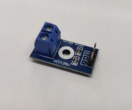 How to Use Voltage Sensor Module in Arduino