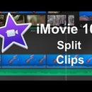 iMovie 10.1 (2016) - How to Split a Clip