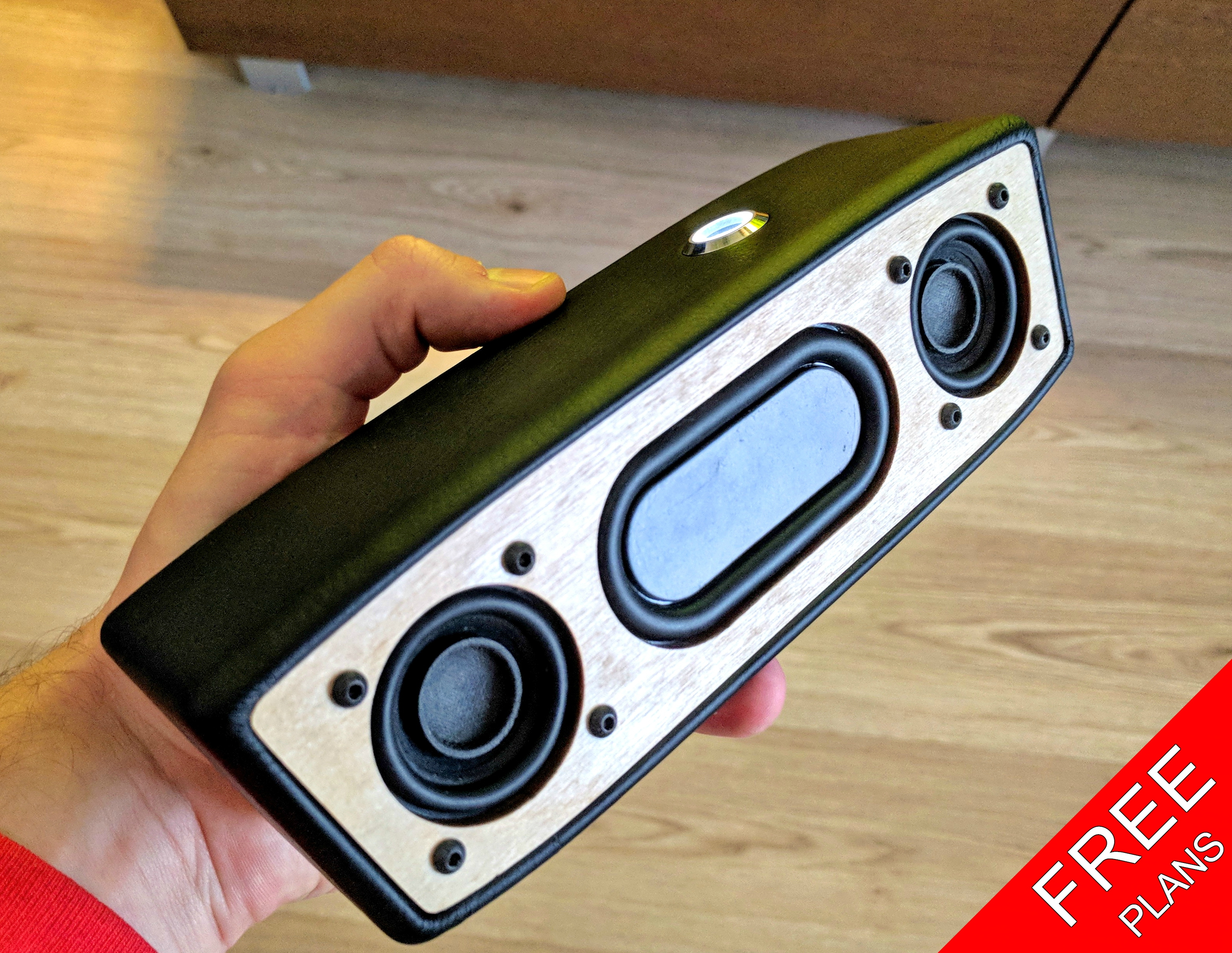 Picture of Portable Bluetooth Speaker (FREE PLANS)