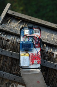 Arduino GPS in IPhone Case - Build Your Own ! :)