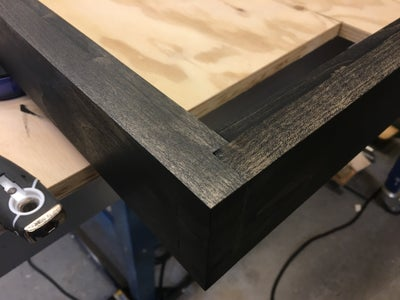Frame Stain and Finish