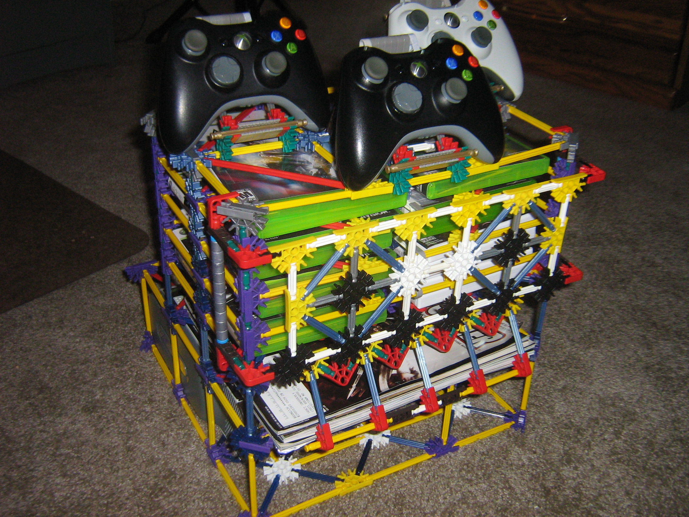 Picture of Xbox 360 Console Controller Game and Guide / Magizine Stand