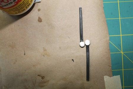 Glue Strap to Magnet