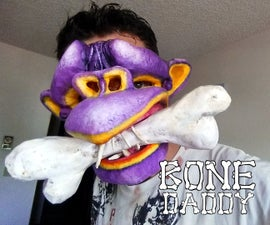 Bone Daddy (Paper Mache Mask)