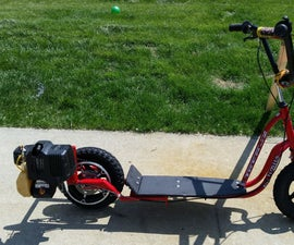 Weed Eater Powered Scooter