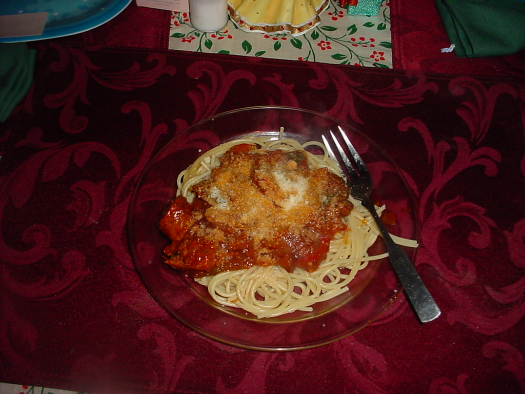 Picture of Sausage, Peppers, Onions and Tomato Sauce W/pasta