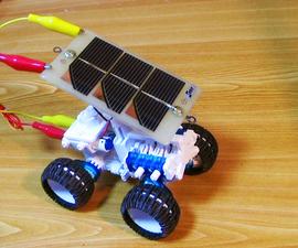 4W-Drive Educational Salt & Solar Powered Car
