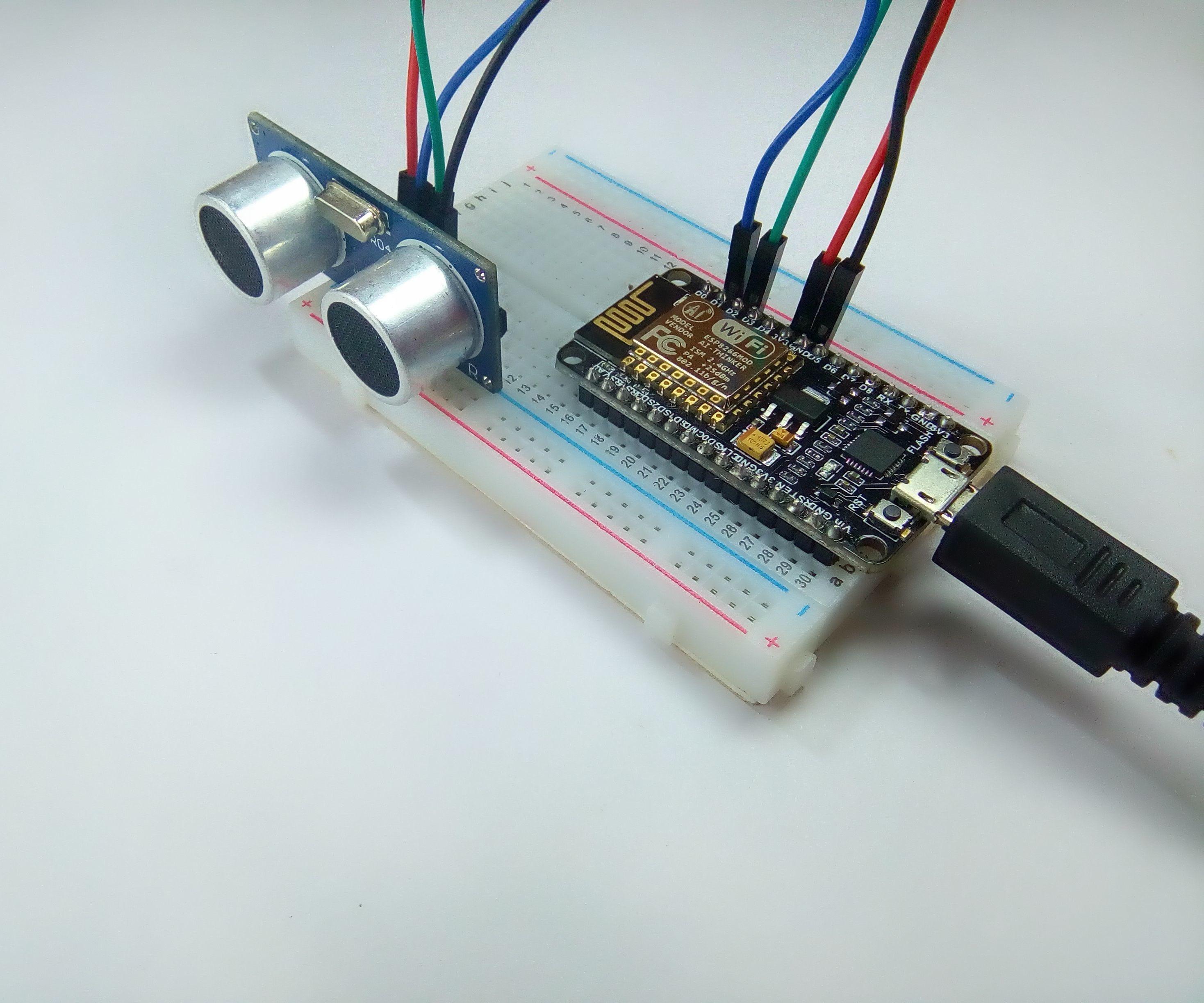 Distance Measurement Using HC-SR04 Via NodeMCU: 7 Steps (with Pictures)