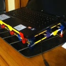 Knex Laptop Stand and Cooling Pad