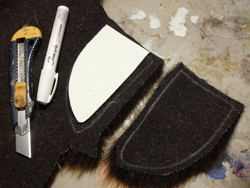 Picture of Sewing the Ears