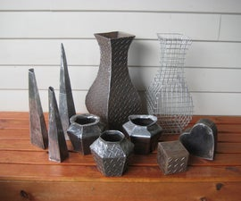 How to Make a Steel Vase - Step by Step