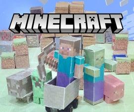 Cardstock Minecraft World