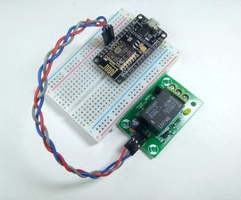 Interface Relay Module With NodeMCU