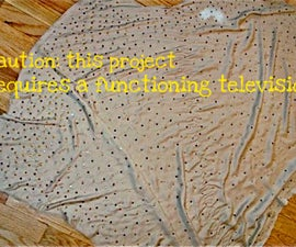 How To: Turn an Old Bedsheet into an Evening Shawl