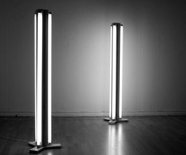 FLUORESCENT FLOOR LAMP