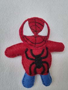 How to Make Felt SPIDERMAN  ? ? ?