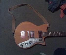 Old Belt Guitar Strap