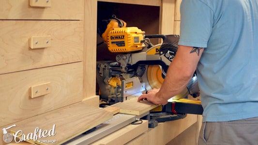Cut Plywood Strip & Add Dominos