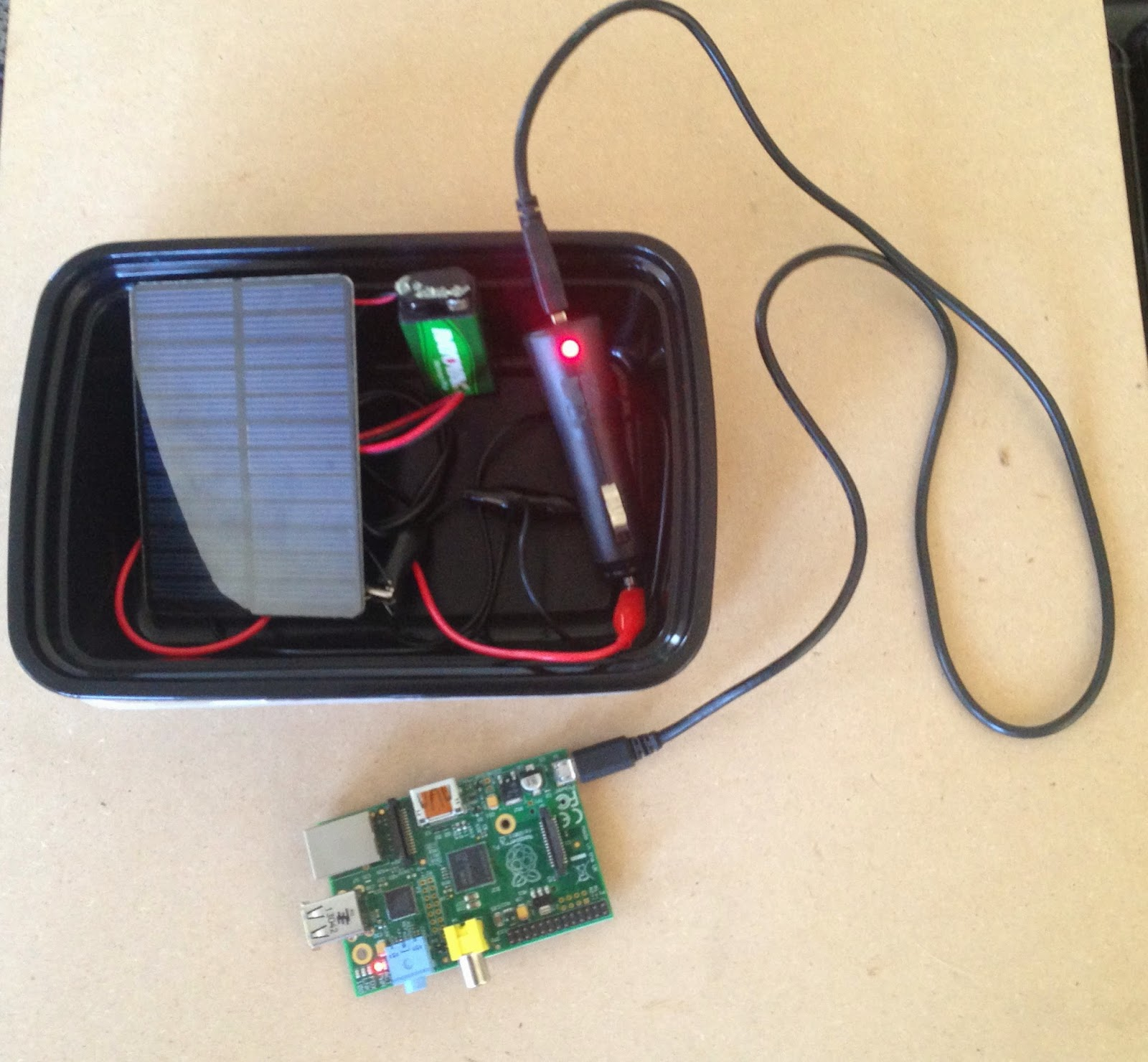 Picture of Portable Solar USB Charger