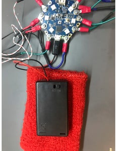 Connecting to the HEXWear Including Using an External Source
