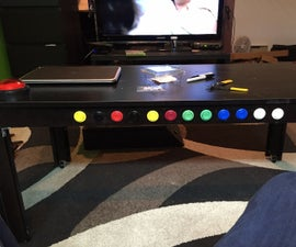 Coffee table TV remote