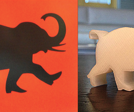 Engineering a 2D Printed Logo into a 3D Object