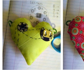 Stuffed Electronic Heart